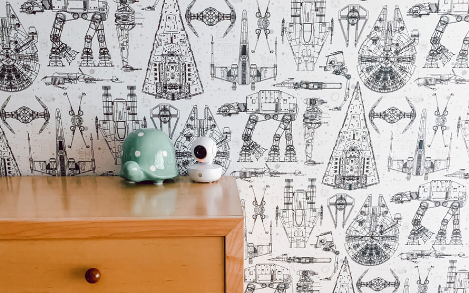 The Wallpaper Comeback: The HOT design solution to your Custom Nursery