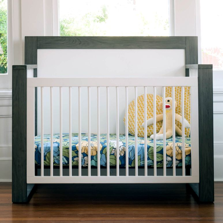 The True 4-in-1 Convertible Crib Front