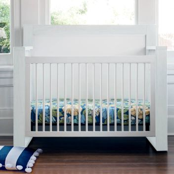True 4-in-1 Convertible Crib Front View